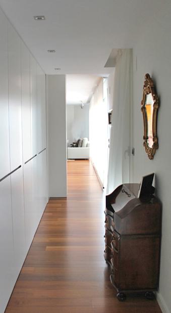 vestidor/acceso a salón