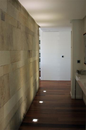 muro de piedra natural que da privacidad