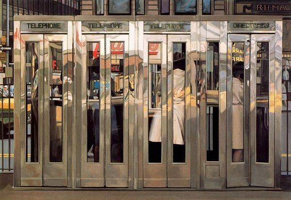 Cabinas telefónicas (Richard Estes)