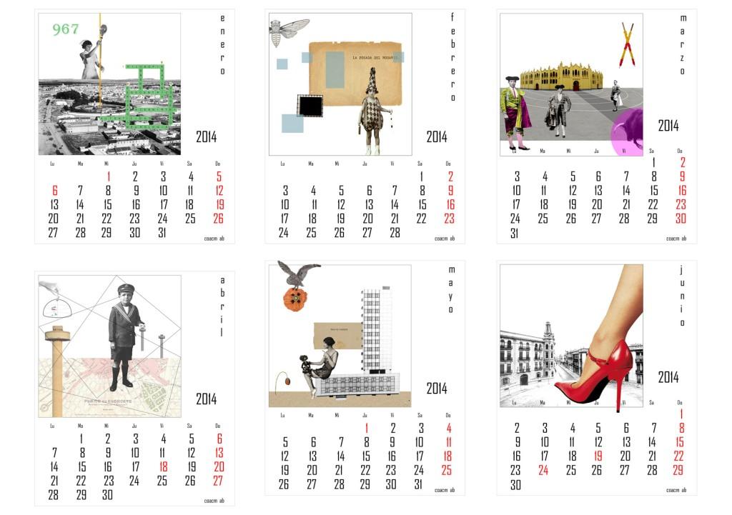 Calendario COACM Albacete 2014. Autor: Pedro Panadero