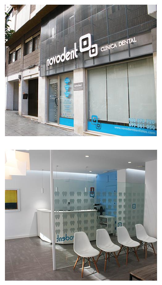 Clinica novodent estudio esc arquitectos - Clinica dental moderna ...