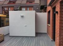 terraza, lavadero al fondo