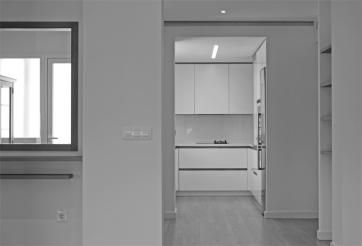 comunicación salón - comedor - cocina